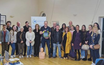 AED Demonstration a Great Success