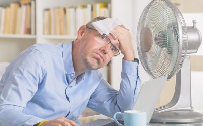 When is it to Hot to work?